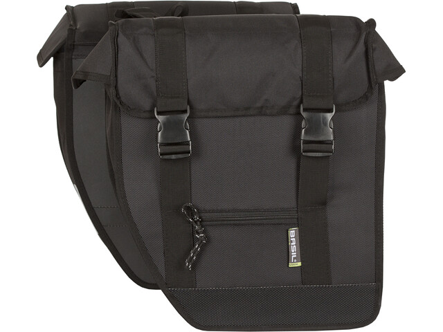 Basil Tour Double Bag XL black